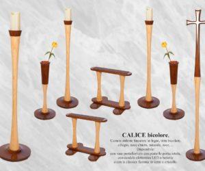arredi funebri Camera ardente legno Calice frassino bicolore   DIEMME - Facelli